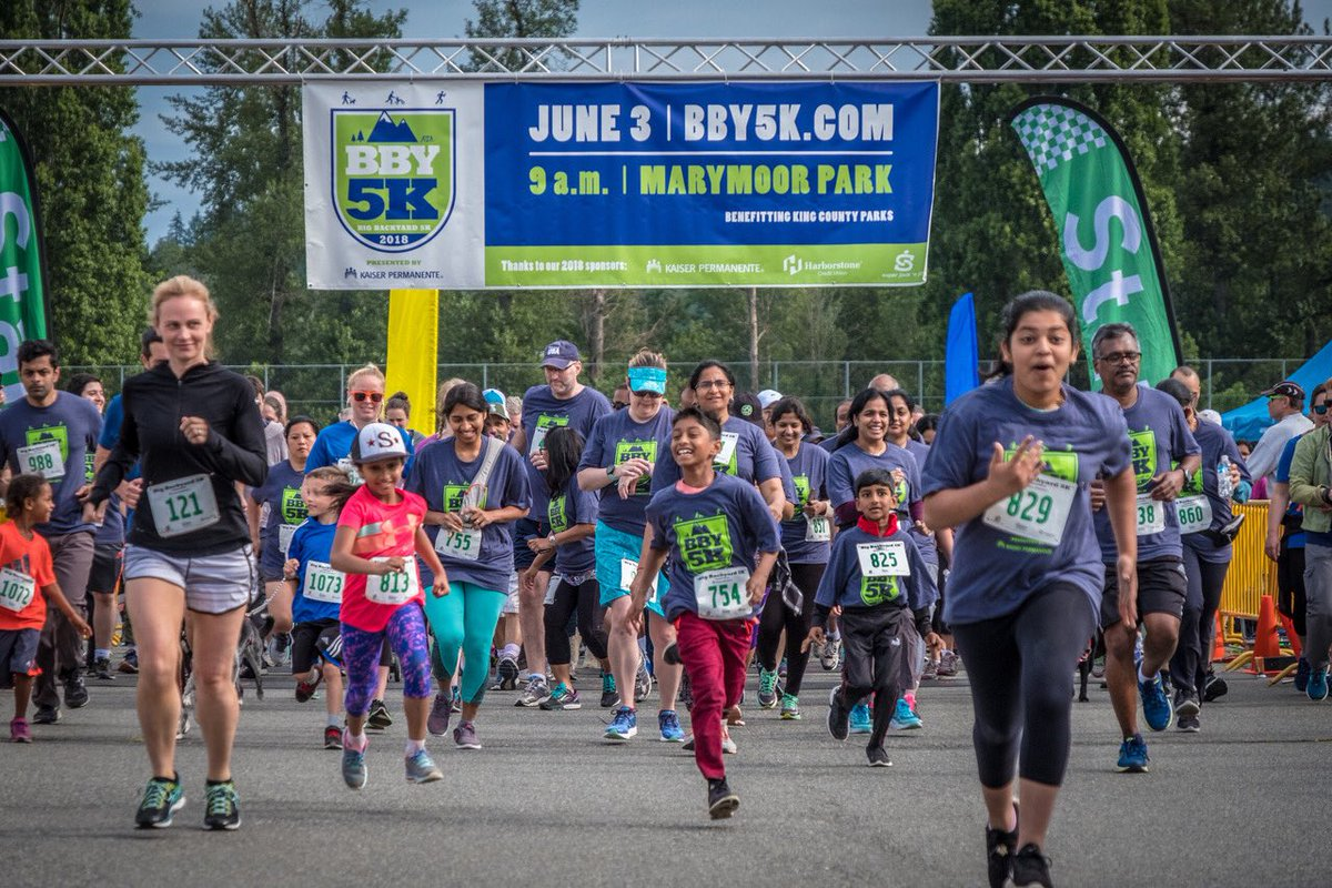 "Big Backyard 5K king county parks 🐿 on twitter: ""big backyard 5k -2018. thank you"