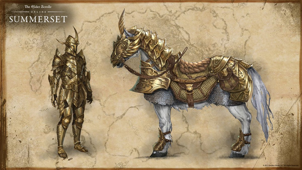 The Elder Scrolls Online On Twitter Auroran Knights And Their