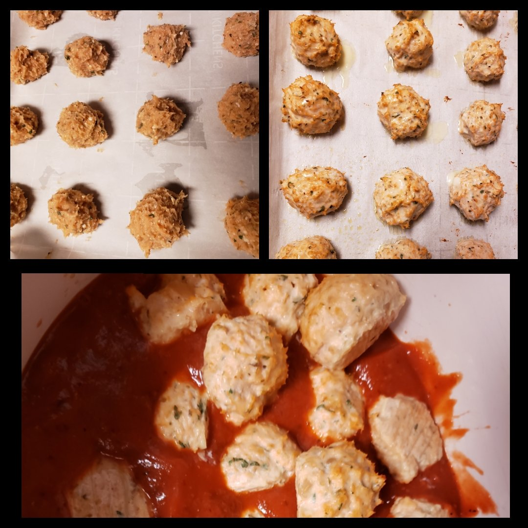Mozzarella stuffed chicken meatballs  #foodporn #GetInMyBelly #FreestyleCooking https://t.co/oBdwp7jwl1