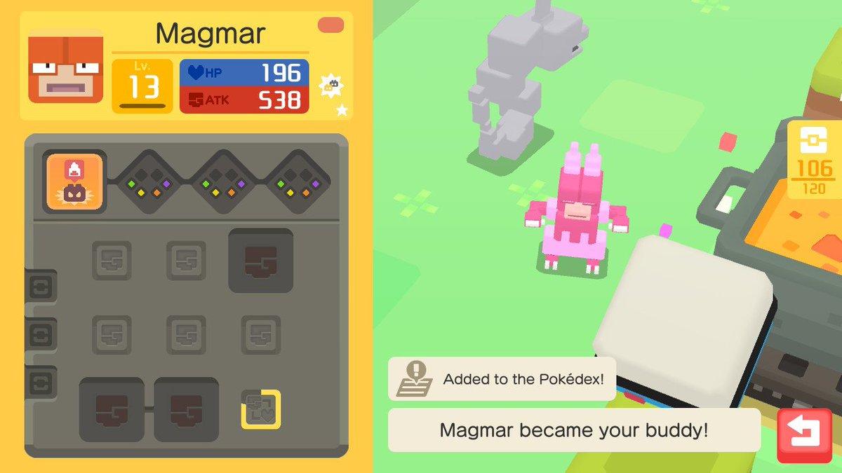 Shiny magmortar sprite