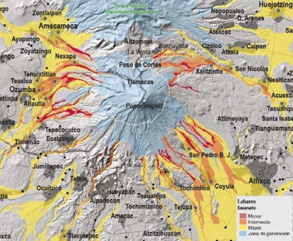 Popocatépetl - mapa de riesgos actualizado . DezjW_bVQAAOUqc?format=jpg&name=small