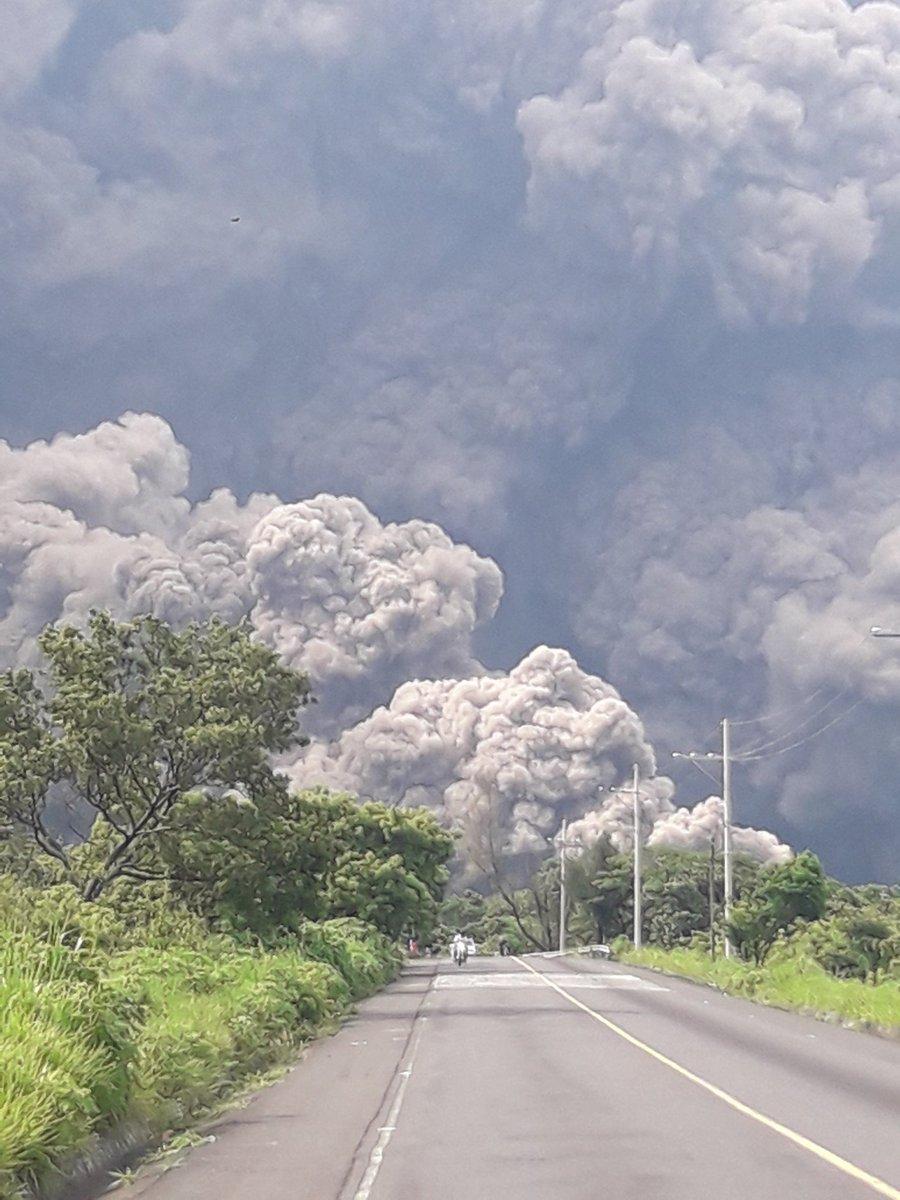 Fotos Erupci 243 N Del Volc 225 N De Fuego Tabasco Hoy