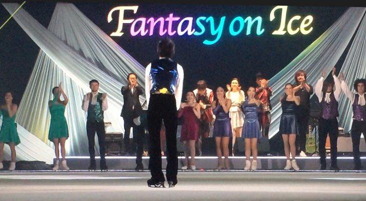 fantasy on ice 2018 in kanazawa yuzuru hanyu