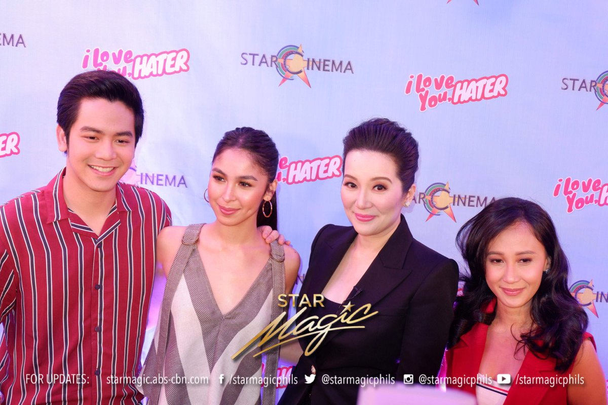 Catch I Love You, Hater starring Joshua Garcia, Julia Barretto together, Alora Sasam and Mark Neumann in cinemas nationwide starting July 11. #ILYHGrandMediaLaunch | Please visit our official Facebook page for more photos.