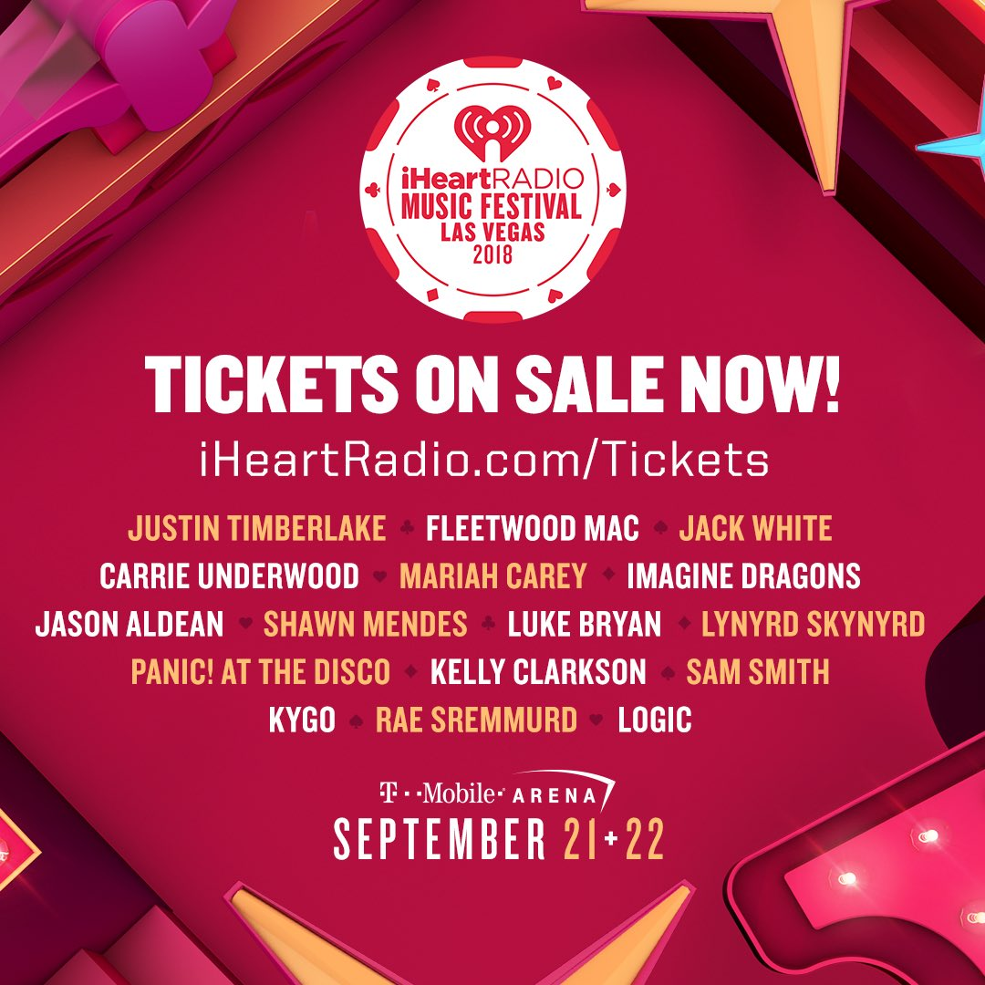 Tickets to the 2018 #iHeartFestival are selling fast! �� Buy yours now: https://t.co/Blfzdyt5gm https://t.co/BbDmIAkAUo