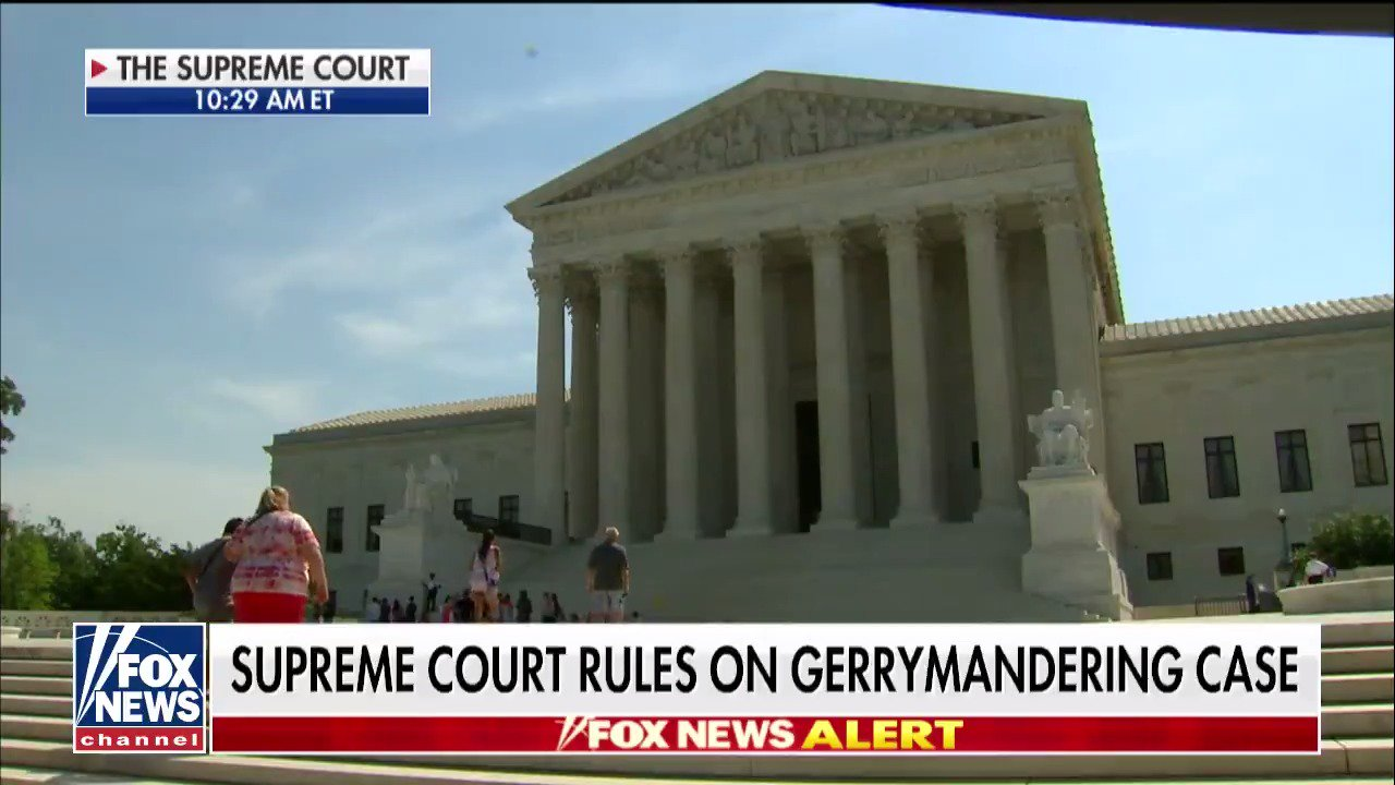 Supreme Court rules on gerrymandering case https://t.co/LHit2iddBt