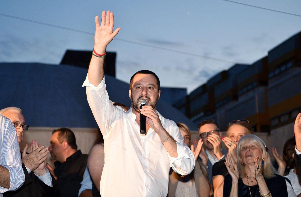 Salvini: 'chiesto un censimento dei rom. Quelli italiani dovremo tenerceli, gli altri saranno espulsi' → https://t.co/mbFkHC1Iqq