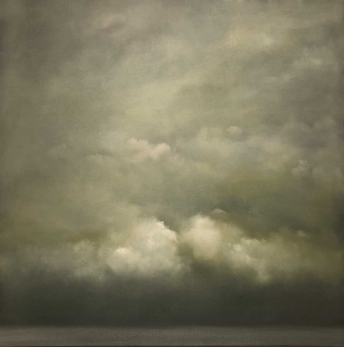 Another #newworks 'Closer' been challenging my Joy Division appreciation session into the mood and title of this one. 80cm x 80cm  . #seascape #englishchannel #depthofwinter #cloudscapes #abstract #landscape #oilpainting #weather #englishskies #joydivision #soundtracktomylife<br>http://pic.twitter.com/lU5B2vqKAF
