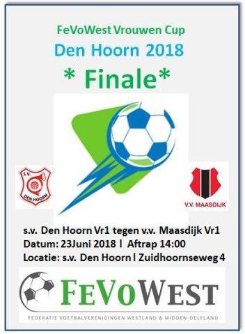 test Twitter Media - Finale Vrouwen Cup @FeVoWestland , zaterdag 23 juni 2018, bij @svdenhoorn https://t.co/NihdHWBynb https://t.co/ZVSWSttXKz