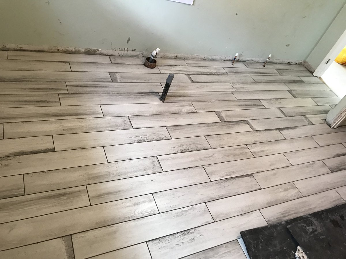 "Personal Best Tiling on Twitter: ""8m8 Bathroom floor in ..."
