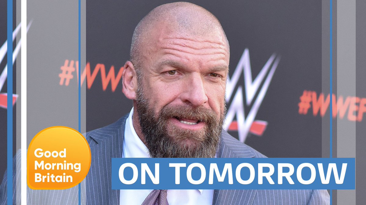 .@RichardAArnold is set to meet @WWEUK superstar @TripleH tomorrow. What will happen?! Tune in to find out... #WWEUKCT