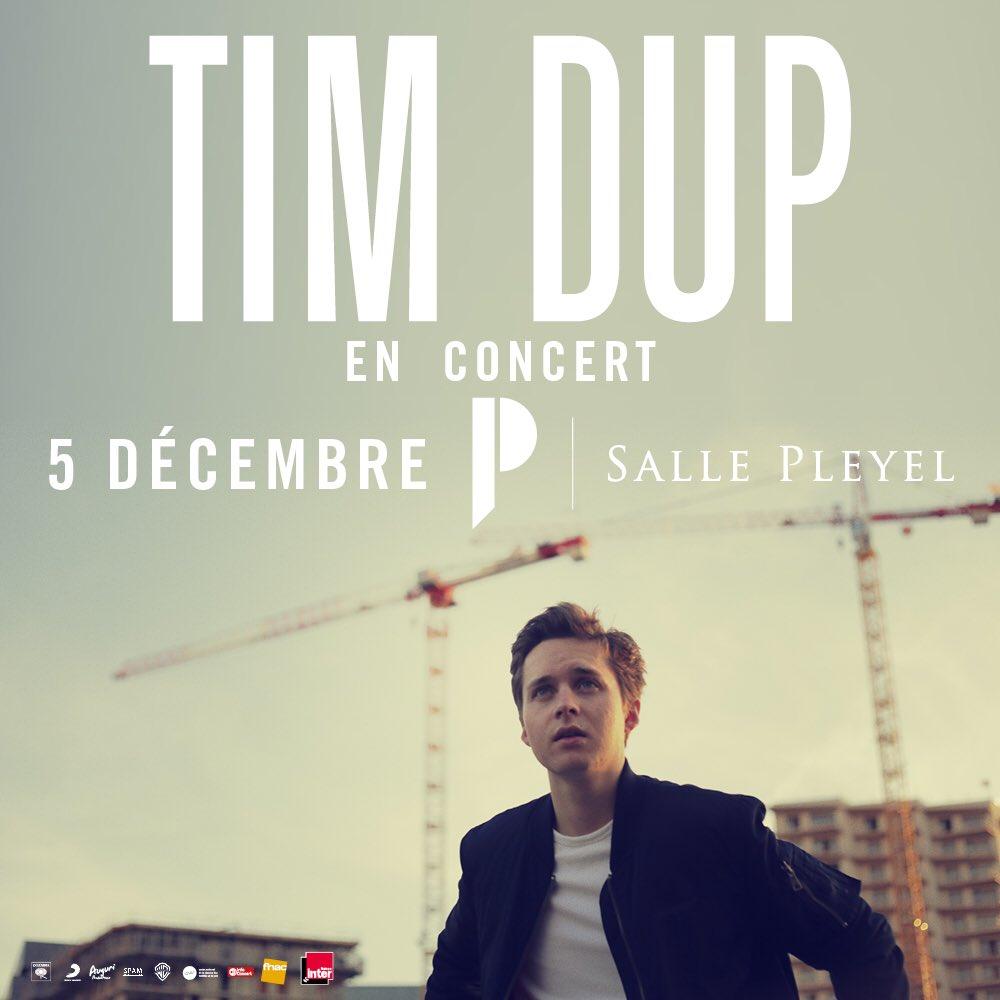 RT @columbia_fr: Vous pouvez dès à présent réserver vos places pour le concert de @Tim_Dup à la @sallepleyel le 5 décembre. ➡https://t.co/…