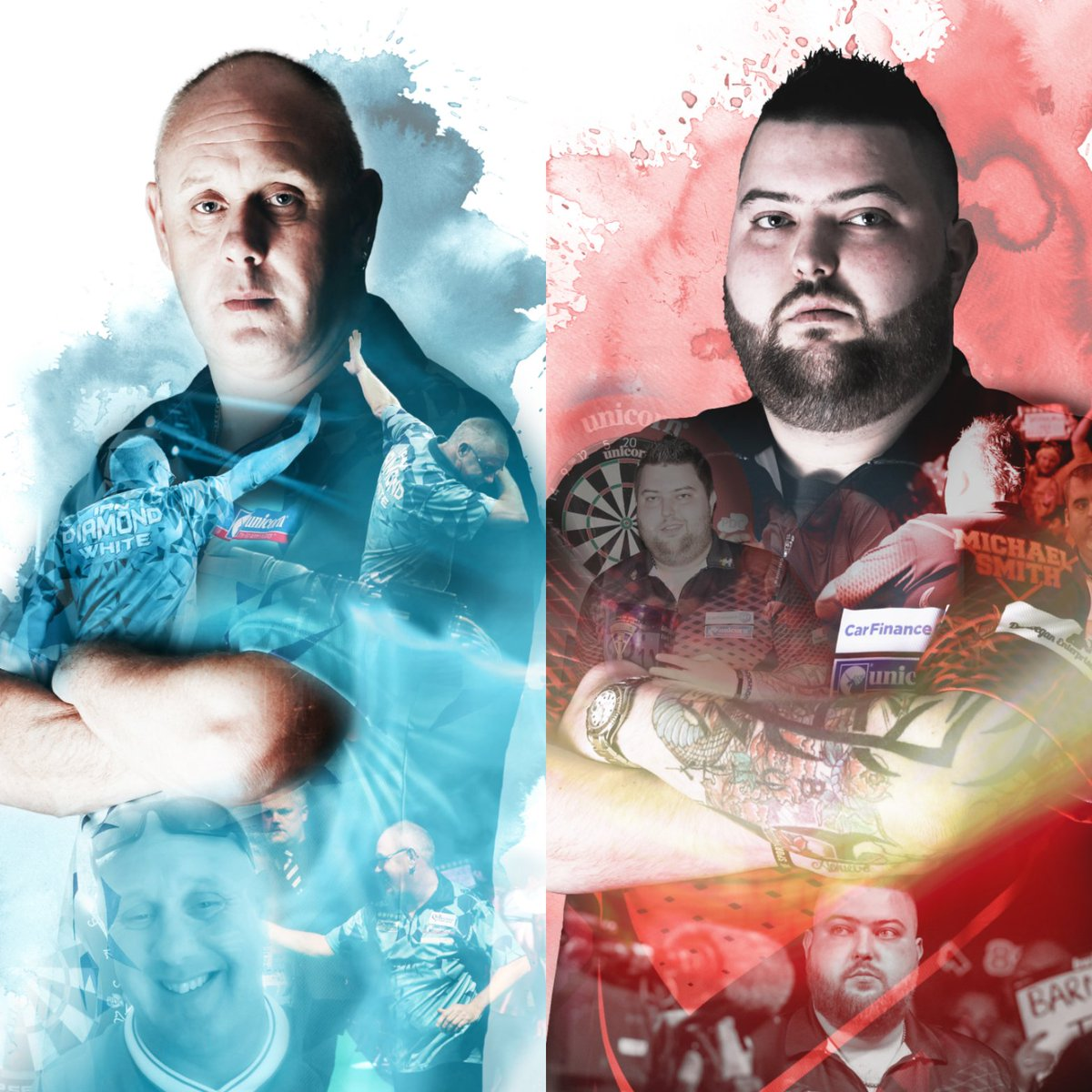 NEWS | @IanDiamondWhite & @BullyBoy180 go close in Wigan! READ ➡ playwiththebest.com/blog/Darts2018…