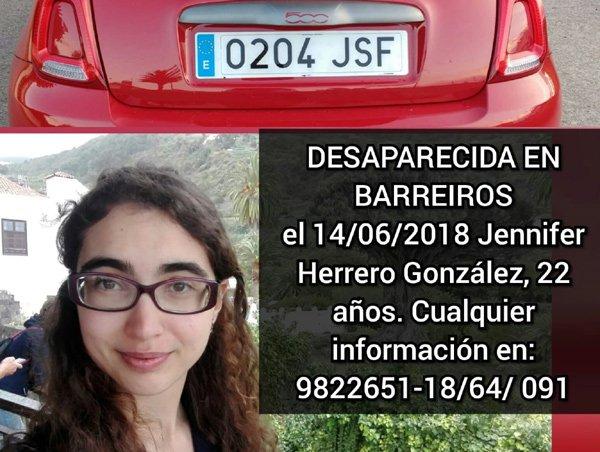 Buscan a una joven de 22 años desaparecida en Galicia. https://t.co/zhwwKgkkBB (Vía @TuOtroDiario).
