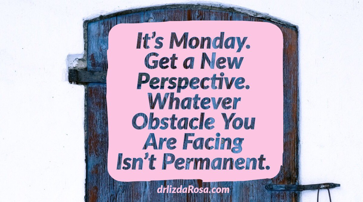 It's Monday, time for a fresh perspective #MondayMotivation #SuccessTRAIN https://t.co/7zhskMOlF3