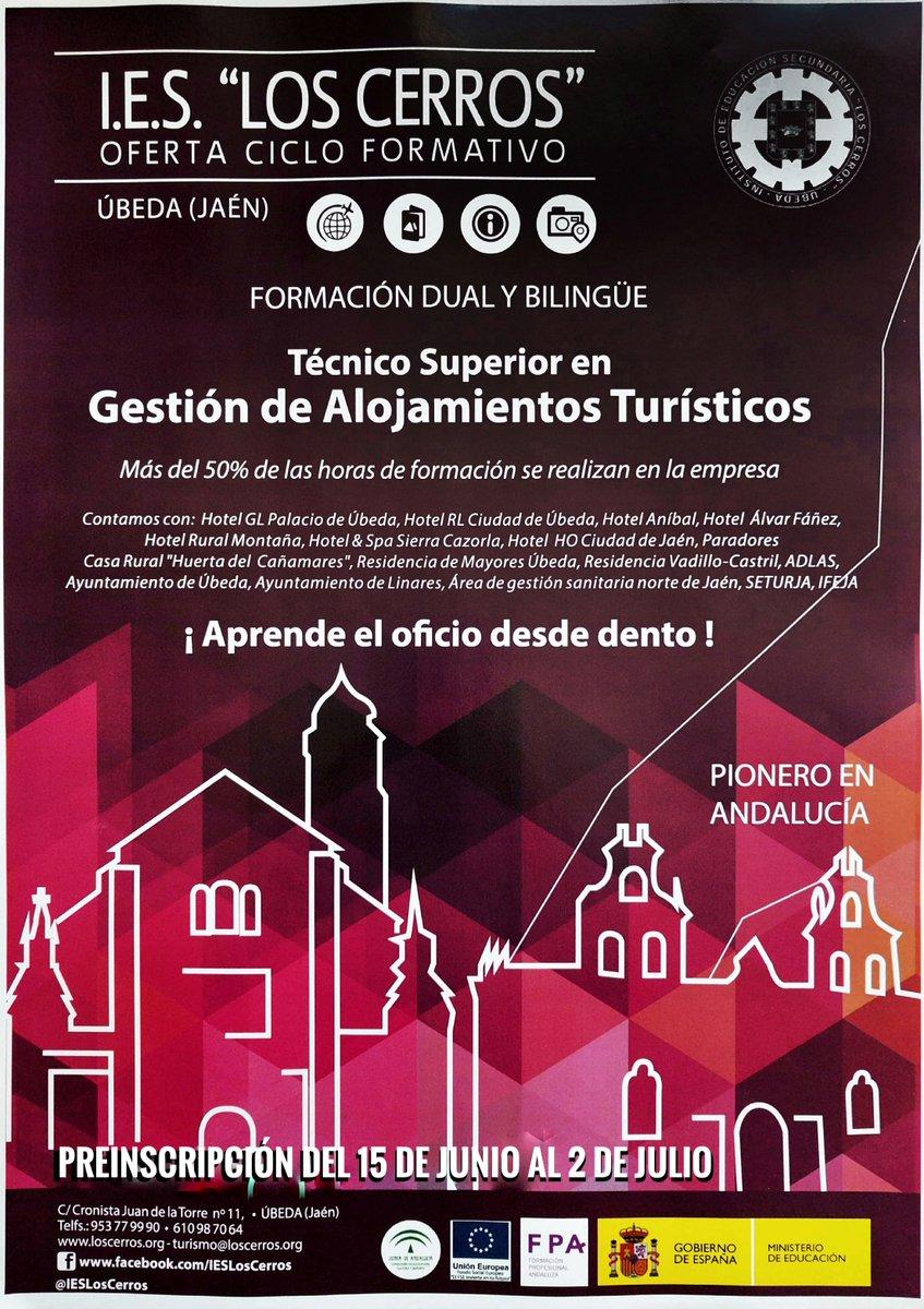 Ies Los Cerros On Twitter Ciclo Formativo En Técnico