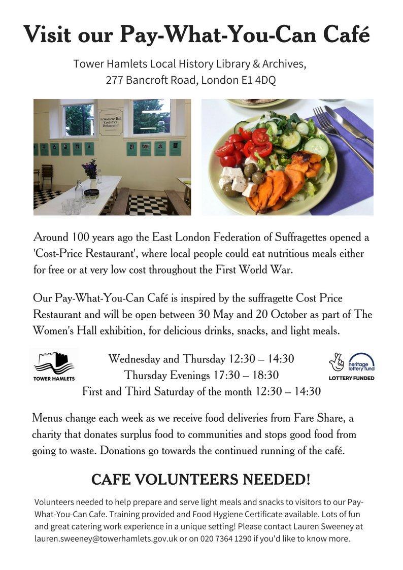 Eastendwomensmuseum On Twitter We Need Volunteers To Help