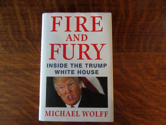 Fire and Fury : Inside the Trump White House by Michael Wolff (2018, Hardcover) ONLY $ Photo