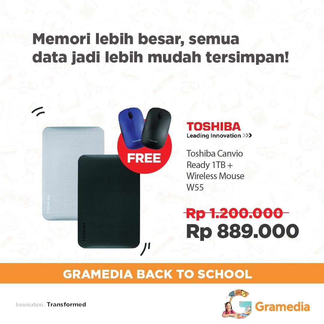 Gramedia Solo Square On Twitter Promo Toshiba External Hardisk Moouse Kw 445 Am 18 Jun 2018