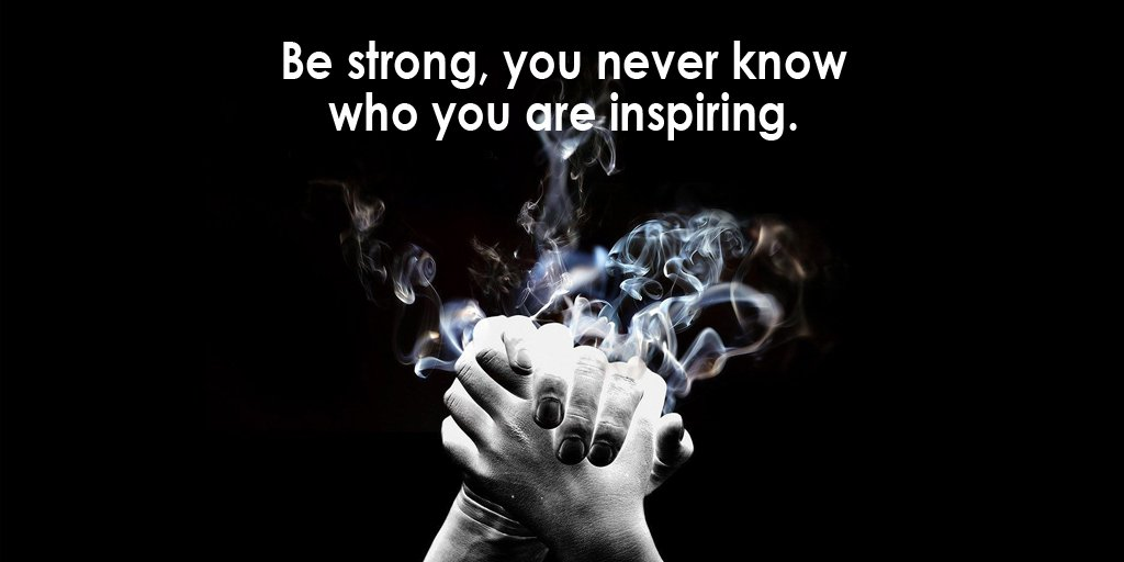 Tim Fargo On Twitter Be Strong You Never Know Who You Are