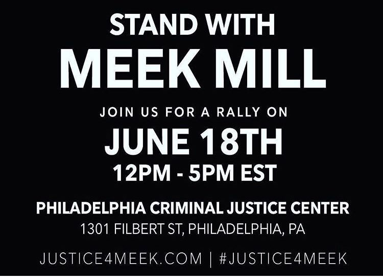 Please join us at NOON TODAY @ 1301 Filbert Street in Philly - I will be there with @MeekMill fighting for his freedom and criminal justice reform. I promise you - we are just getting started!