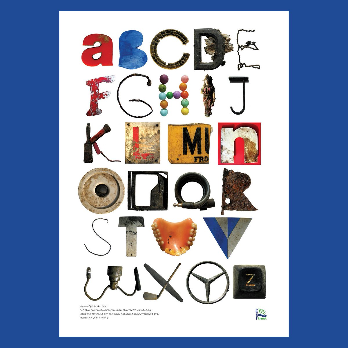 Letter Made Out Of Objects.Jane Porter On Twitter I Ve Just Added This A1 Alphabet