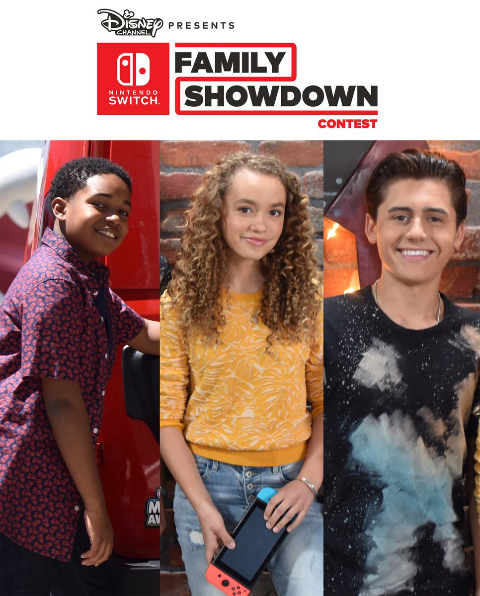 Are you the ultimate Nintendo family? Enter to win the Nintendo Switch Family Showdown contest and be one of four families to compete in unique game challenges. Streaming on the DisneyNOW app & @DisneyChannel @DisneyXD this summer. #NintendoSwitchTogether nintendoswitchshowdown.com
