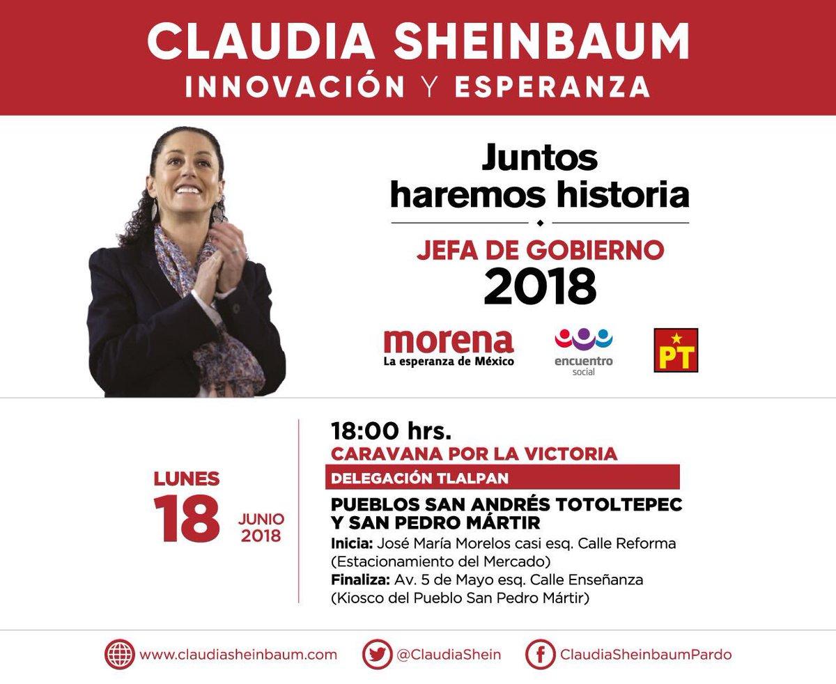Ο χρήστης Claudia Sheinbaum στο Twitter
