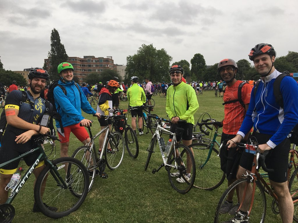 Another year another successful @TheBHF bike ride! Collectively we raised over £1000 so thanks for all the support, it will make a difference!