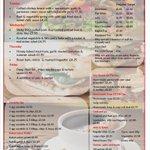 Image for the Tweet beginning: This week's menu 18th-22nd June