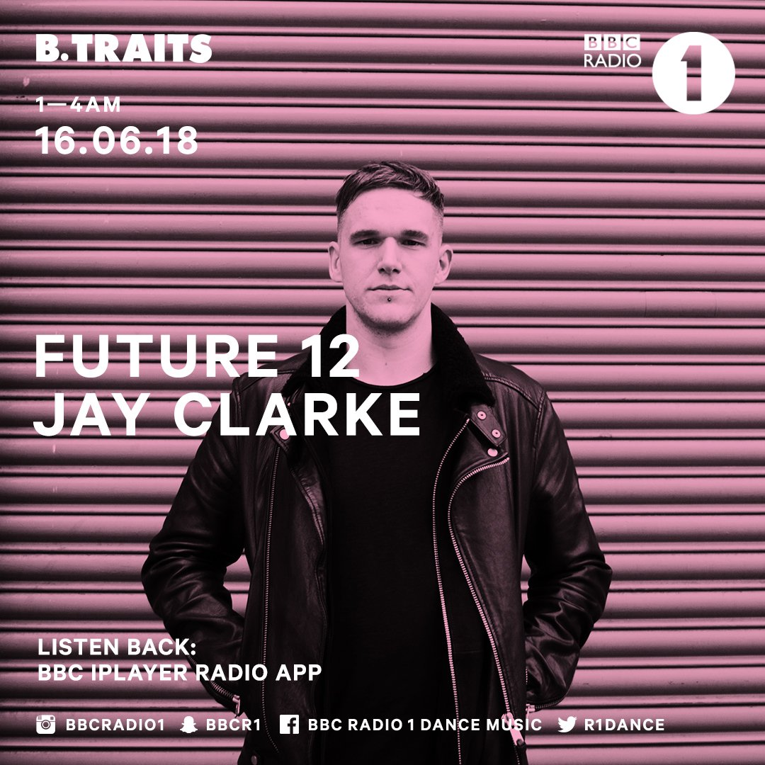 Rising star @jayclarke_uk delivers his third Future 12 mix for @BTraits, check it out! https://t.co/wCyLYxX2hY https://t.co/1TEX0fSPyB