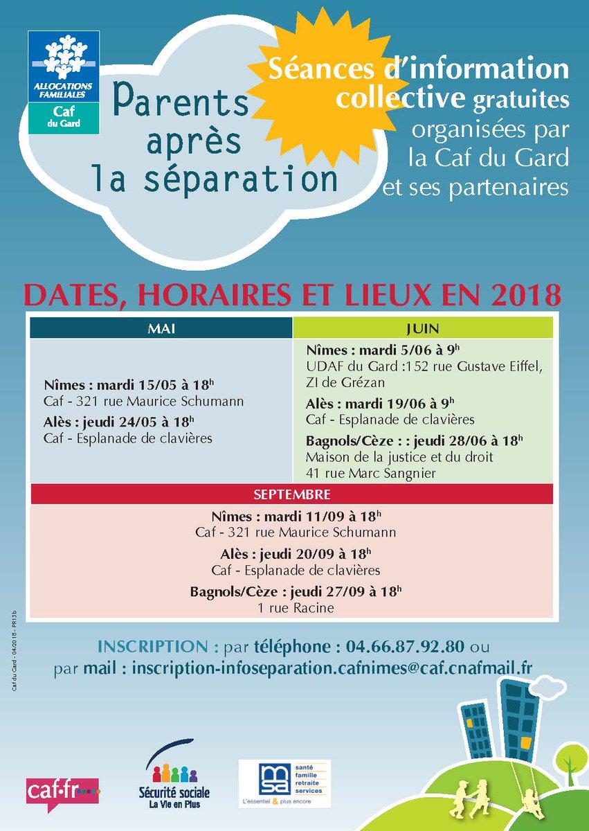 Caf Du Gard On Twitter Parents Spars La Caf Est L Pour Vous