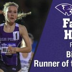 Congrats to Famke Heinst on being named @BigSouthSports Runner of the Year! #GoHPU Details: https://t.co/fbZ5TPyZX5