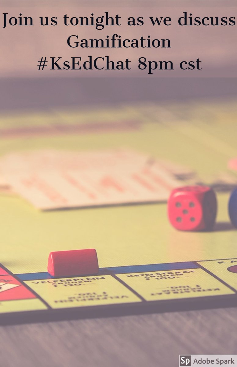 Want to learn more about gamification? Check out tonight's #ksedchat