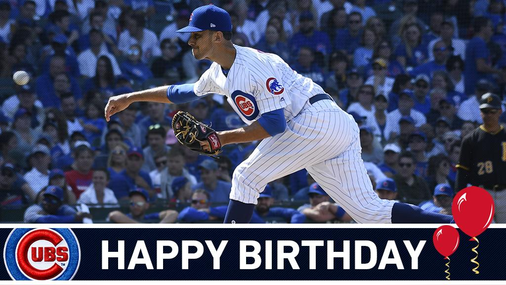 Wishing a happy birthday to @srSHREK31, who has a 1.82 ERA in 33 appearances this year! #EverybodyIn https://t.co/0kGkomFHnu