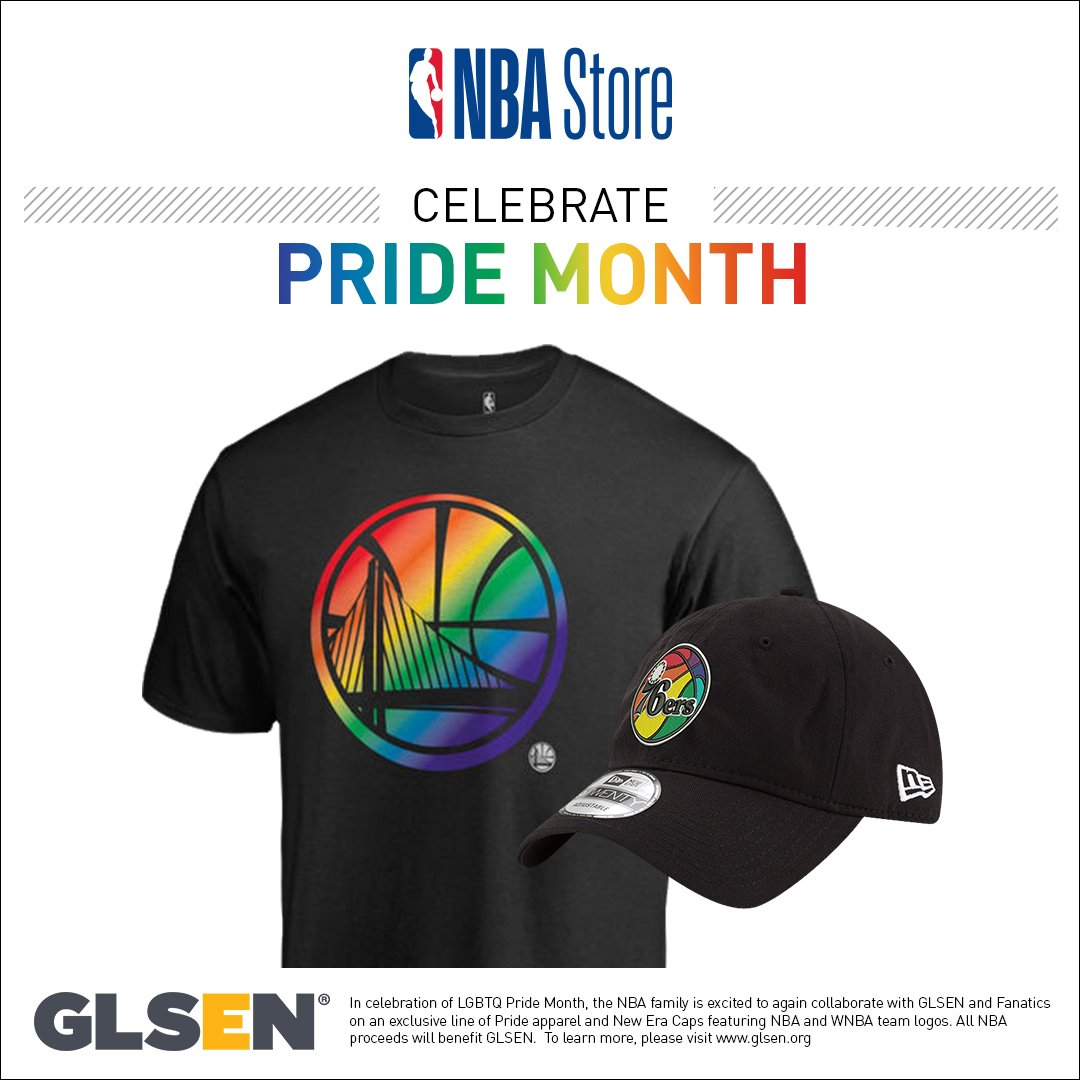 #pridemonth #Pride #Pride2018 Shop: on.nba.com/2M20eTQ