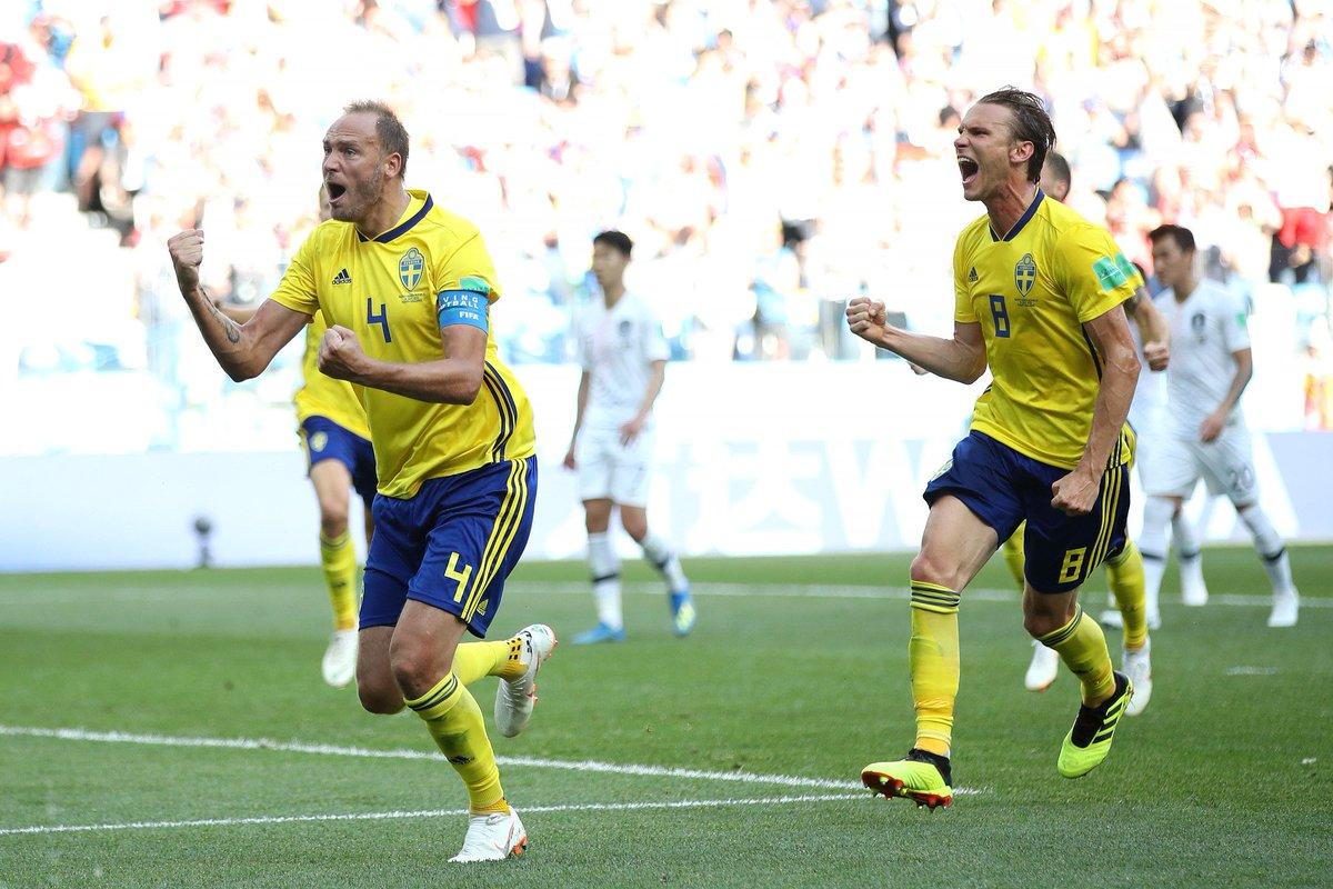 Video: Thụy Điển vs Hàn Quốc