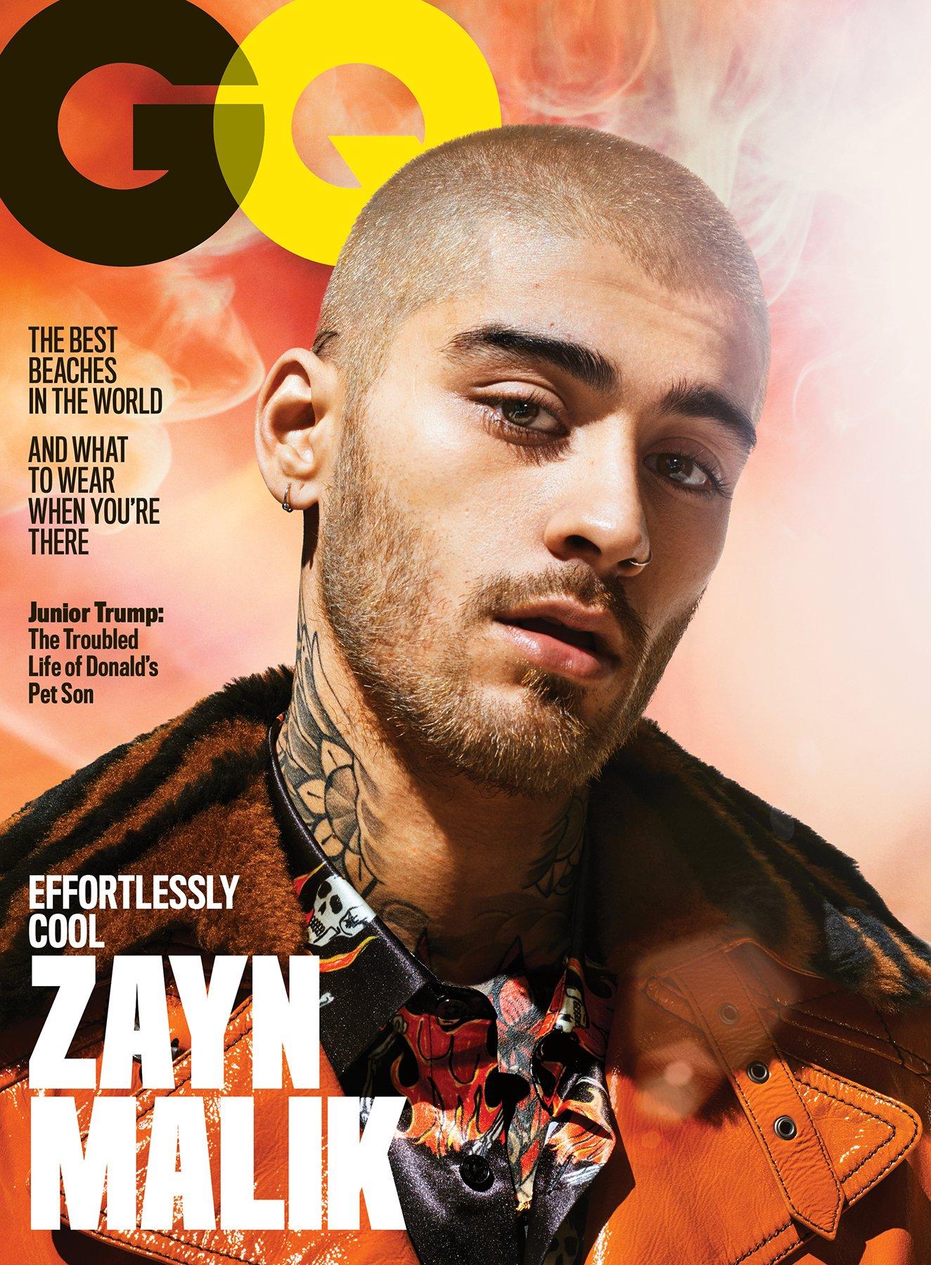 .@ZaynMalik covers GQ's July 2018 issue. Photographed by Sebastian Mader, story by @CBattan. https://t.co/py51CyXokj https://t.co/VAogRbnxa3