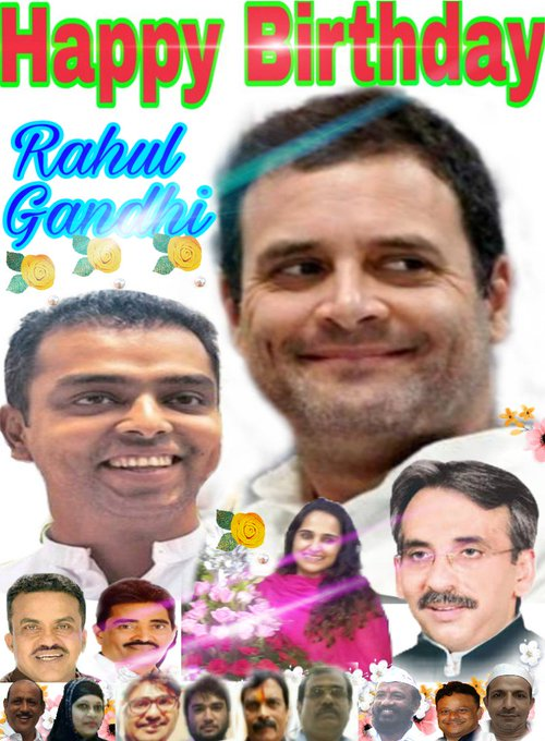 Happy Birthday..Rahul Gandhi..j...