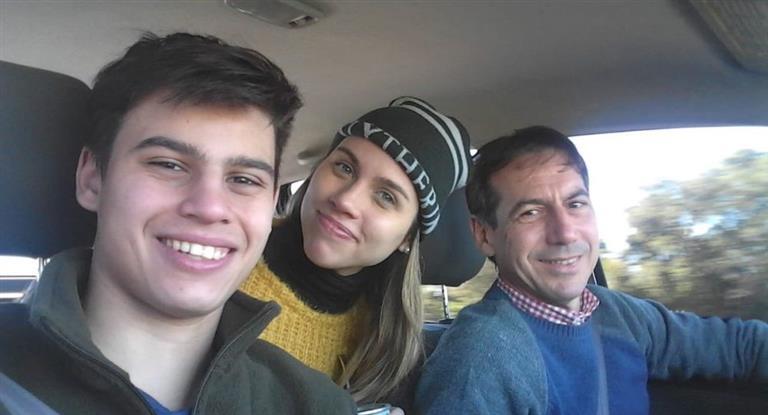 Hallaron muertos a la esposa y al hijo del Senador Luis Naidenoff