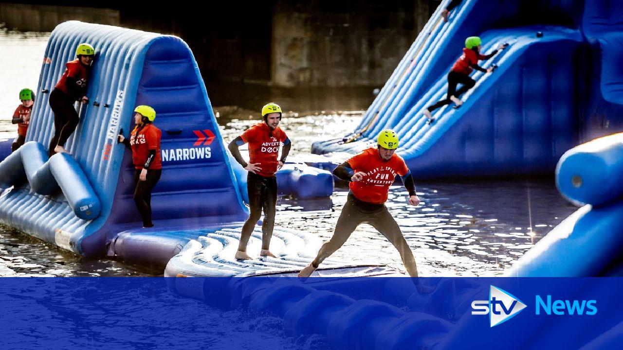 Scotland's first urban aqua park set to open in Dundee https://t.co/BxfQG3s5dv https://t.co/wdxDtoqgOa