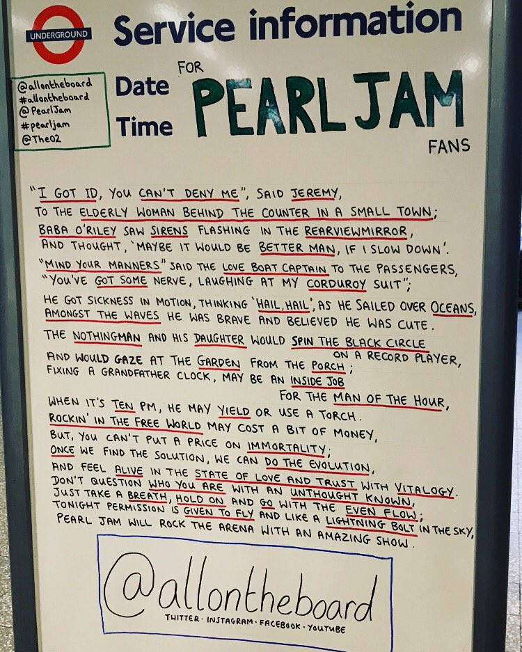 Pearl jam fan dating
