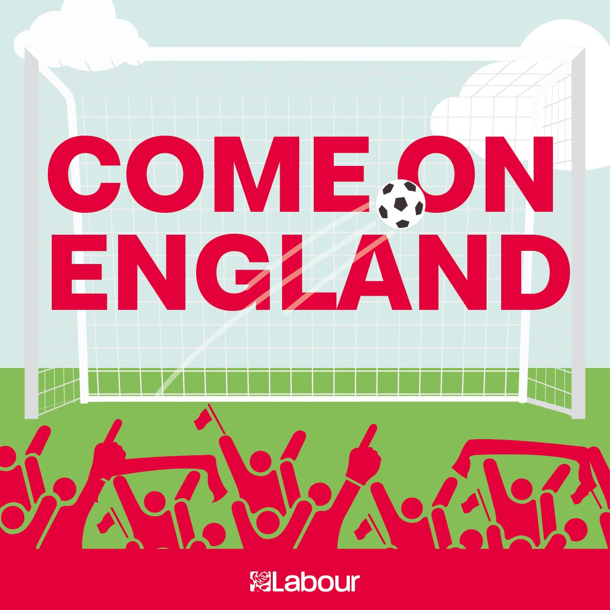 We're backing the three lions all the way for #ENGTUN tonight. Come on England! #ItsComingHome ⚽�� https://t.co/jKtJ4eqUoE