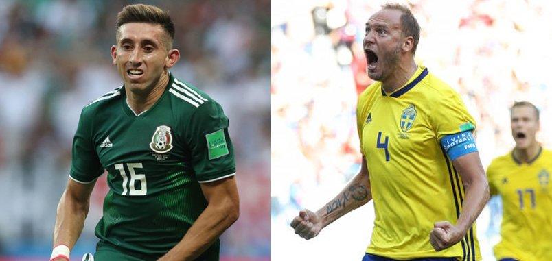 Coupe du Monde 2018 : Herrera et le Mexique créent la sensation🇲🇽, Granqvist se mue en héros ! 🇸🇪 Les anciens du @TournoiToulon brillent durant cette #CM2018 Résumé ▶️festival-foot-espoirs.com/festival/detai… #WorldCup