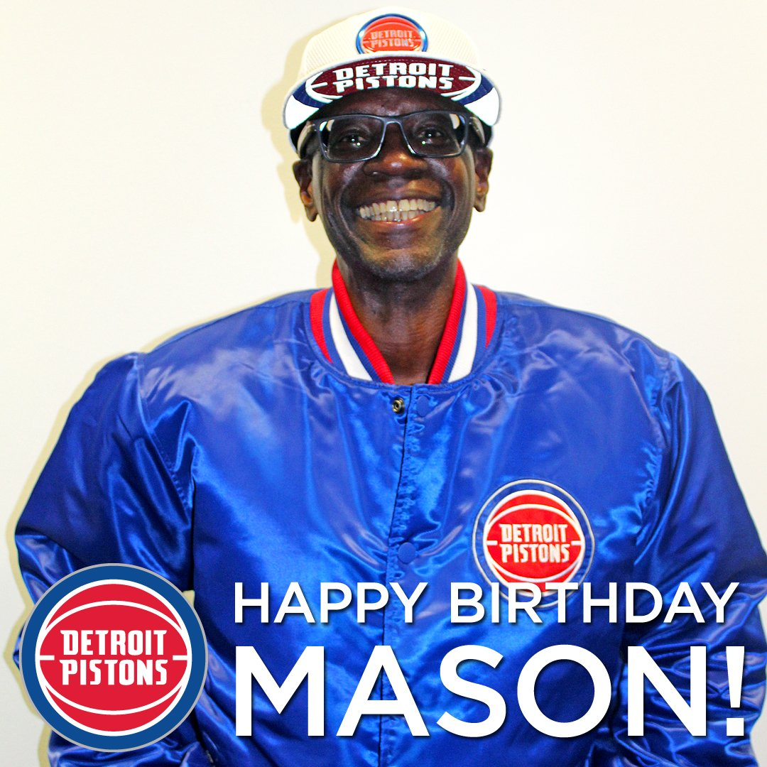 DEEEETROIT BASKETBALL! Lets wish Mason a very Happy Birthday!