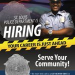 Image for the Tweet beginning: #SLMPD #Recruitment is currently seeking