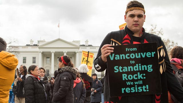 Indigenous protesters in Washington declare Trans Mountain won't be built aptnnews.ca/?p=95387