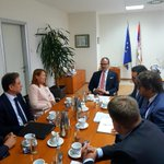 Glad to meet @UNOPS Executive Director Ms Faremo for an exchange of views on the common policy priorities and the substantial EU-funded projects implemented by @UNOPS_Serbia