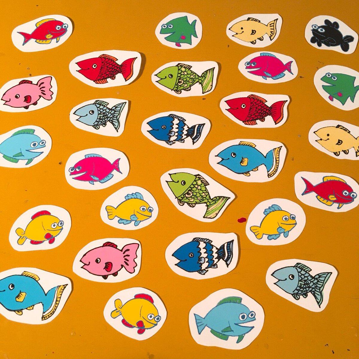 ツチヤヒトミ On Twitter イジャ At Ijm のお魚のイラストと私のお