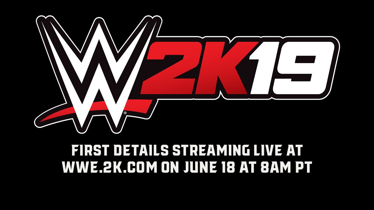 We're about 20 minutes away from the #WWE2K19 press conference! The pre-stream is up if you want to chat. Watch live on YouTube, Twitch, Facebook, and at https://t.co/XTNK9QpWyk at 8am PT for the first details! #MITB